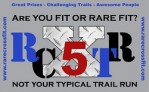 RARE Crossfit 5 Mile Trail Run More than a run, 5 miles of beautiful trails and a little Crossfittery along the way.